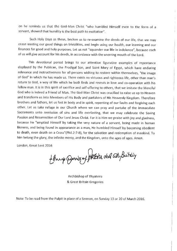 Arch_encyclical_Lent-English2
