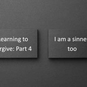 I am a sinner, too