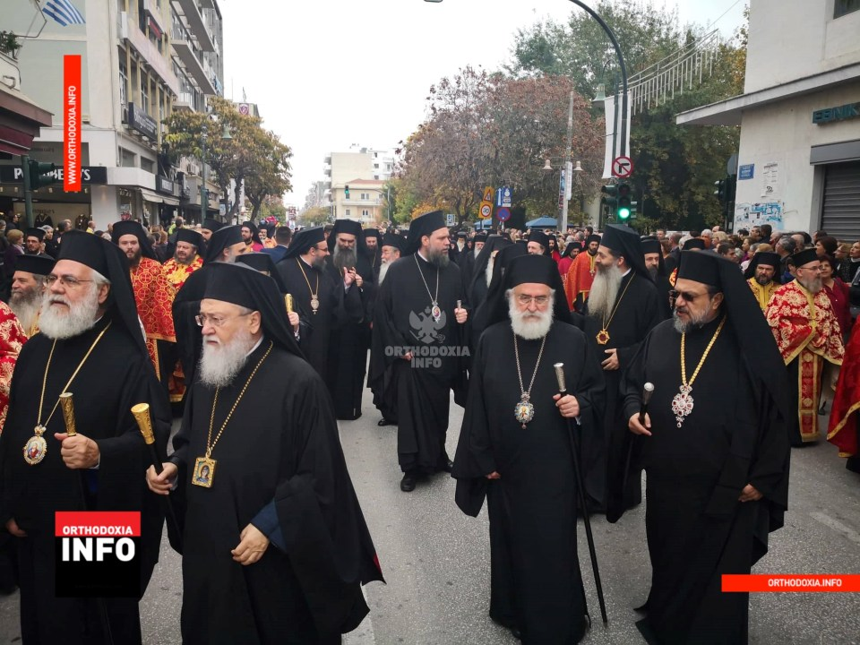 Bishop Ieronymos enthroned as metropolitan of Larissa