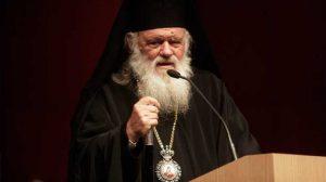 """Αρχιεπίσκοπος Ιερώνυμος στον ΑΝΤ1: Καμία """"έκπτωση"""" για την Θεία Κοινωνία"""