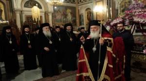 Αρχιεπίσκοπος Αθηνών Αθηνών και πάσης Ελλάδος κ. Ιερώνυμος