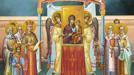Συνοδικόν της Ορθοδοξίας: Γιατί οι Άγιοι Πατέρες «αναθεματίζουν» τους αιρετικούς