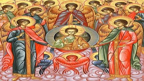Ορθόδοξος συναξαριστής 8 Νοεμβρίου 2018, Σύναξις των Αρχαγγέλων Μιχαήλ και Γαβριήλ και των λοιπών Ασωμάτων και Ουράνιων Αγγελικών Ταγμάτων