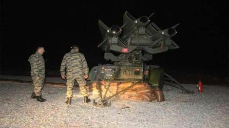 Η Τουρκία αναπτύσσει αντιαεροπορικά μέσα στη Συρία!