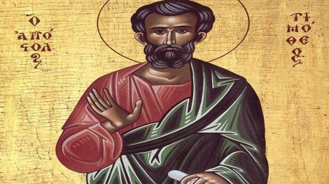 Εορτολόγιο | Άγιος Τιμόθεος ο Απόστολος