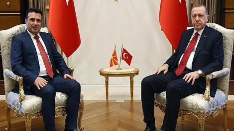 Τα Σκόπια «κτίζουν» στρατιωτική συμμαχία με την Τουρκία