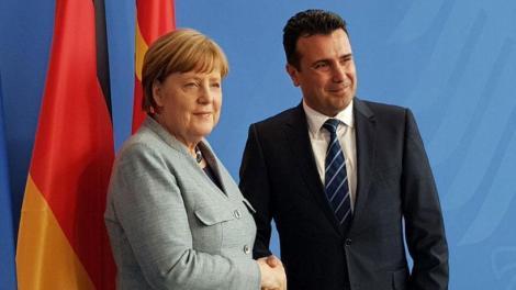 Α.Μέρκελ: «Kαλωσορίζω τον Μακεδόνα πρωθυπουργό»...... (φωτό, βίντεο)