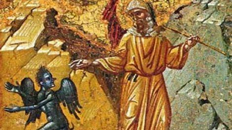 Ο μοναχός Ιωσήφ και ο διάβολος