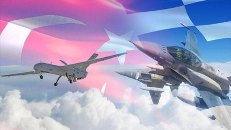 Για πρώτη φορά αναχαίτιση τουρκικού drone