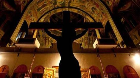 Όταν ο Κύριος ήταν πάνω στον Σταυρό