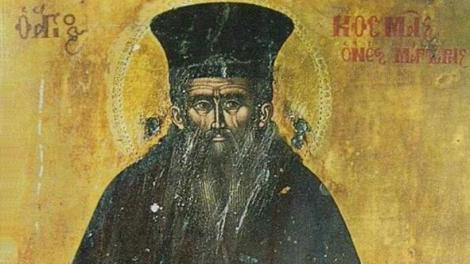 Στέργιος Σάκκος: Άγιος Κοσμάς ο Αιτωλός - Λίγα λόγια για τις Προφητείες