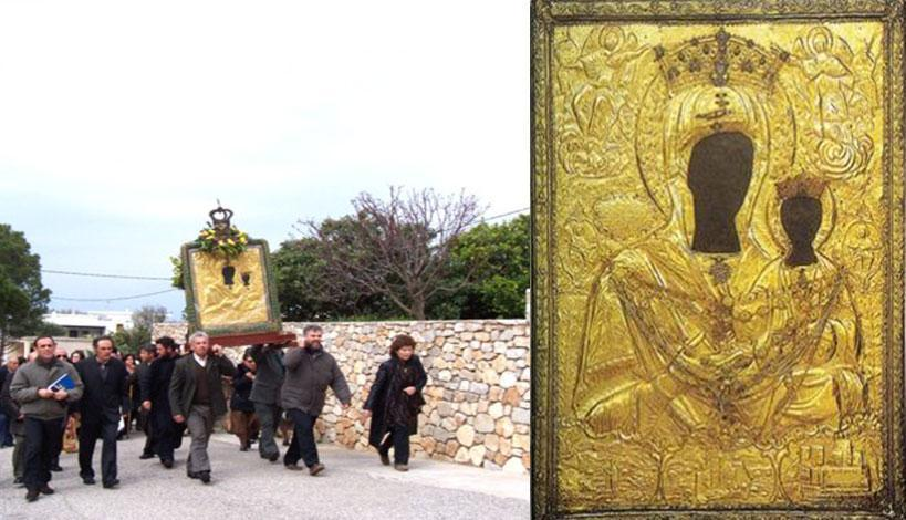 Σύναξη της Παναγιάς της Μυρτιδιώτισσας στα Κύθηρα και ανάμνηση της ιάσεως του παραλύτου