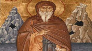Σήμερα γιορτάζει ο Όσιος Νείλος ο Μυροβλύτης