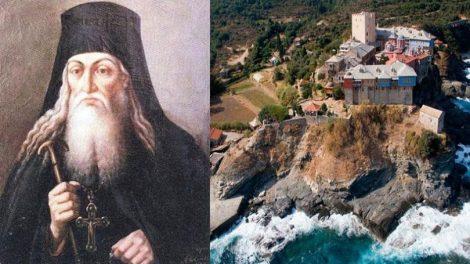 Άγιον Όρος: Όσιος Παΐσιος Βελιτσκόφσκυ, Μνήμη 15Νοεμβρίου
