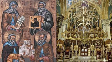Εορτολόγιο | Άγιοι Νεόφυτος, Ιγνάτιος, Προκόπιος και Νείλος, κτίτορες της Ιεράς Μονής Μαχαιρά