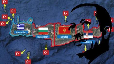Τουρκικοί χάρτες αποκαλύπτουν τις επιδιώξεις της Άγκυρας - Μυρίζονται αέριο και επιδιώκουν να βάλουν χέρι στην Κρήτη