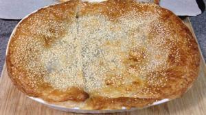 Αγιορείτικες Μοναστηριακές Συνταγές: Σουσαμόπιτα