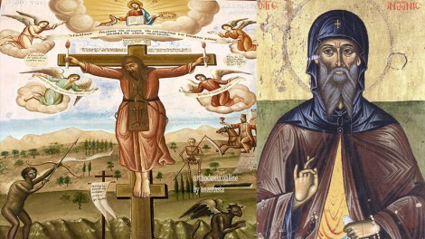 Ο Άγιος Αντώνιος και το όραμα για την καλογερική χάρη