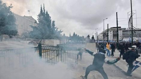Συλλαλητήριο για την Μακεδονία : Προβοκάτσια από μια χούφτα κουκουλοφόρους