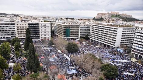 Συλλαλητήριο για την Μακεδονία : Τι λένε τα Διεθνή ΜΜΕ - «Το πολύ» 60.000 διαδηλωτές «είδε» η αστυνομία!