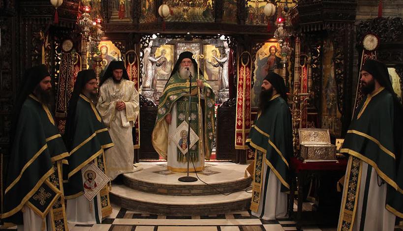 Προεξάρχοντος του Γέροντος Νεκτάριου Μουλατσιώτη εορτάστηκε ο Άγιος Σεραφείμ του Σάρωφ στο Τρίκορφο Φωκίδος