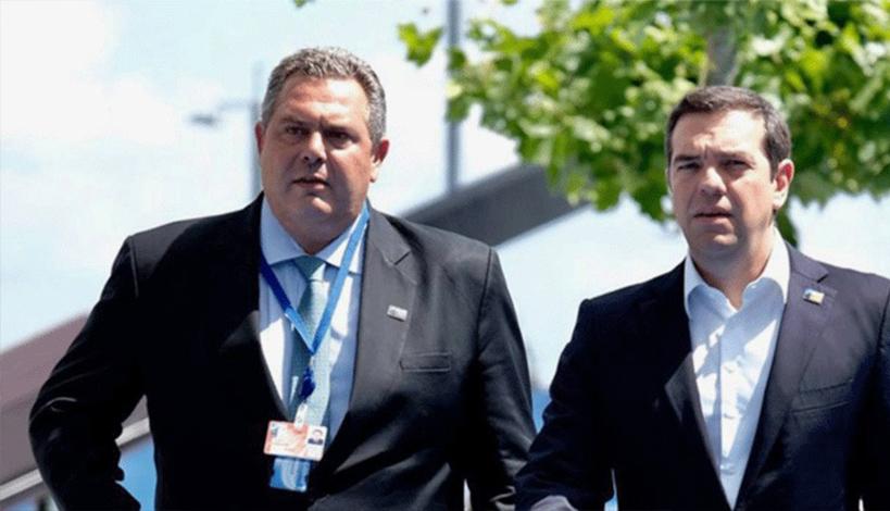 Το Μακεδονικό λήγει τη συγκυβέρνηση - Κυριακή στις 10.30 το ραντεβού Τσίπρα - Καμμένου