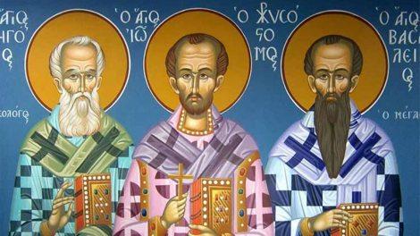 π. Σπυρίδων Σκουτής : Το μέλλον της Παιδείας υπό την σκέπη των Τριών Ιεραρχών