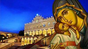 Εκκλησίες και μοναστήρια εορτάζουν τη Σύναξη της Παναγίας