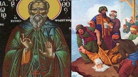 O Αγιορείτης Άγιος που εορτάζει σήμερα, Άγιος Χρύσανθος ο Ξενοφωντινός ο Νεομάρτυρας
