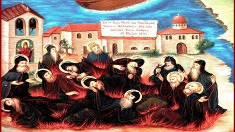 Άγιοι Δεκατρείς Οσιομάρτυρες και Ομολογητές της Μονής Καντάρας Κύπρου