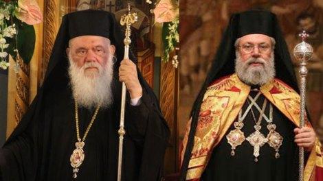 Συνάντηση Ιερώνυμου - Χρυσόστομου με φόντο το Ουκρανικό - Την Τετάρτη συνεδριάζει η Δ.Ι.Σ.