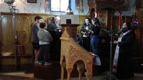 Iερά Παράκληση υπέρ ενισχύσεως της μαθητιώσσας νεολαίας στον Ιερό Ενοριακό Ναό Αγίας Τριάδος Καλάμου