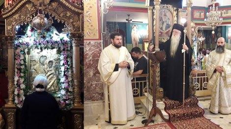 Ιερά Παράκλησις προς την Υπεραγία Θεοτόκο: Καλαβρύτων Αμβρόσιος - Αρπαχτείτε από το φουστάνι τής Παναγίας μας