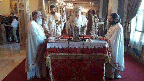 Λαμπρός ο εορτασμός της Κοιμήσεως της Θεοτόκου στην Ιερά Μητρόπολη Καλαβρύτων και Αιγιαλείας