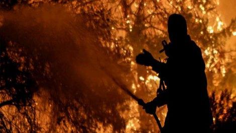 Κατά 99% η πυρκαγιά στην Εύβοια οφείλεται σε εμπρησμό