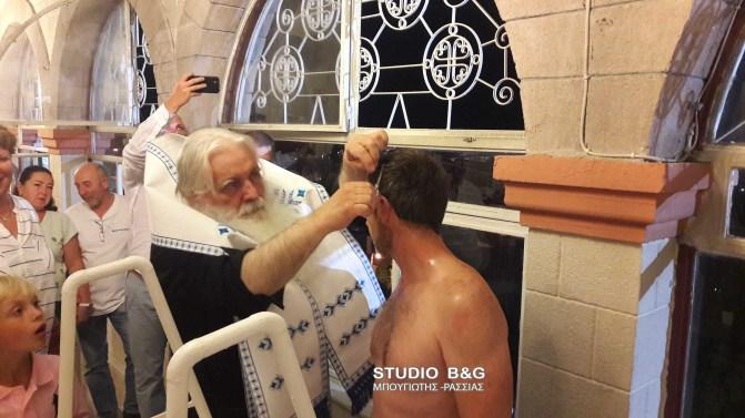 Ο Δισέγγονος του Αγίου Λουκά του Ιατρού βαπτίστηκε Ορθόδοξος Χριστιανός στο Ναύπλιο