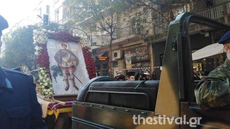 Με λαμπρότητα η Λιτάνευση των εικόνων Αγίου Δημητρίου και Παναγίας Σουμελά (ΦΩΤΟ & BINTEO)