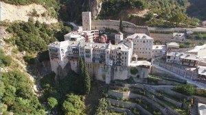 Άγιον Όρος | Φωτογραφία «μυστήριο» πάνω από την Ιερά Μονή Αγίου Παύλου