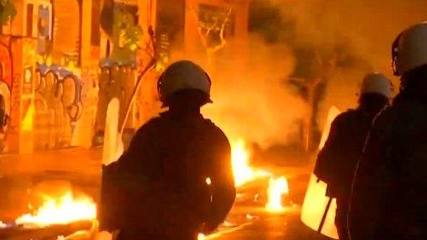 Ελλάδα | Εξάρχεια: Επίθεση αγνώστων κατά της ομάδας ΔΙΑΣ