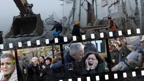 Κόσμος | Ανθρώπινες τραγωδίες στα ερείπια του Δυρραχίου