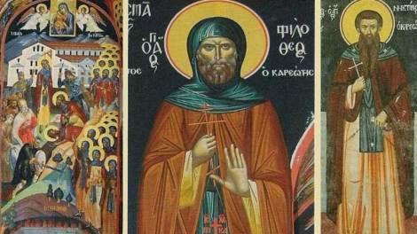 Άγιον Όρος | Αγιορείτες Άγιοι εορτάζοντες την 5η Δεκεμβρίου