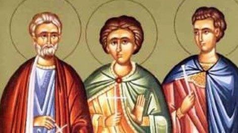 Εορτολόγιο | Άγιοι Μηνάς ο Καλλικέλαδος, Ερμογένης και Εύγραφος