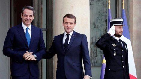 Η Γαλλία στηρίζει την εθνική κυριαρχία Ελλάδας Κύπρου