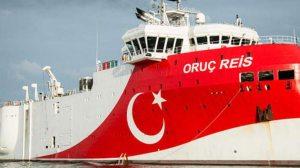 Στην ελληνική υφαλοκρηπίδα το τουρκικό ερευνητικό σκάφος Oruc Reis