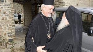 Άγιον Όρος: Ο Σεβ. Μητροπολίτης Γαλλίας στην Ι. Μονή Ξενοφώντος