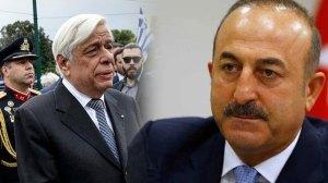 Επίθεση Μεβλούτ Τσαβούσογλου στον ΠτΔ Προκόπη Παυλόπουλο - Αυστηρή απάντηση της Αθήνας