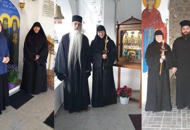Κουρά μοναχής στην Ι.Μ. Αγίας Τριάδας Ακράτας