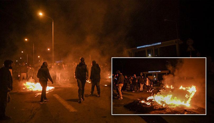 """Λέσβος: Πολιορκείται το στρατόπεδο """"Κυριαζή"""""""