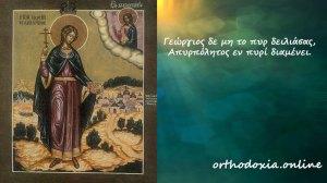 Σήμερα 11 Φεβρουαρίου γιορτάζει ο Άγιος Γεώργιος ο Νεομάρτυρας εκ Σερβίας