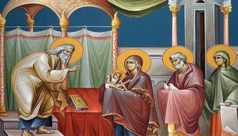 Υπαπαντή του Κυρίου   † Αρχ. Γεώργιος Καψάνης